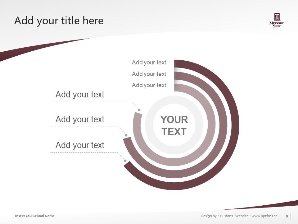 Missouri State University Powerpoint Template Download | 密苏里州立大学PPT模板下载_幻灯片5