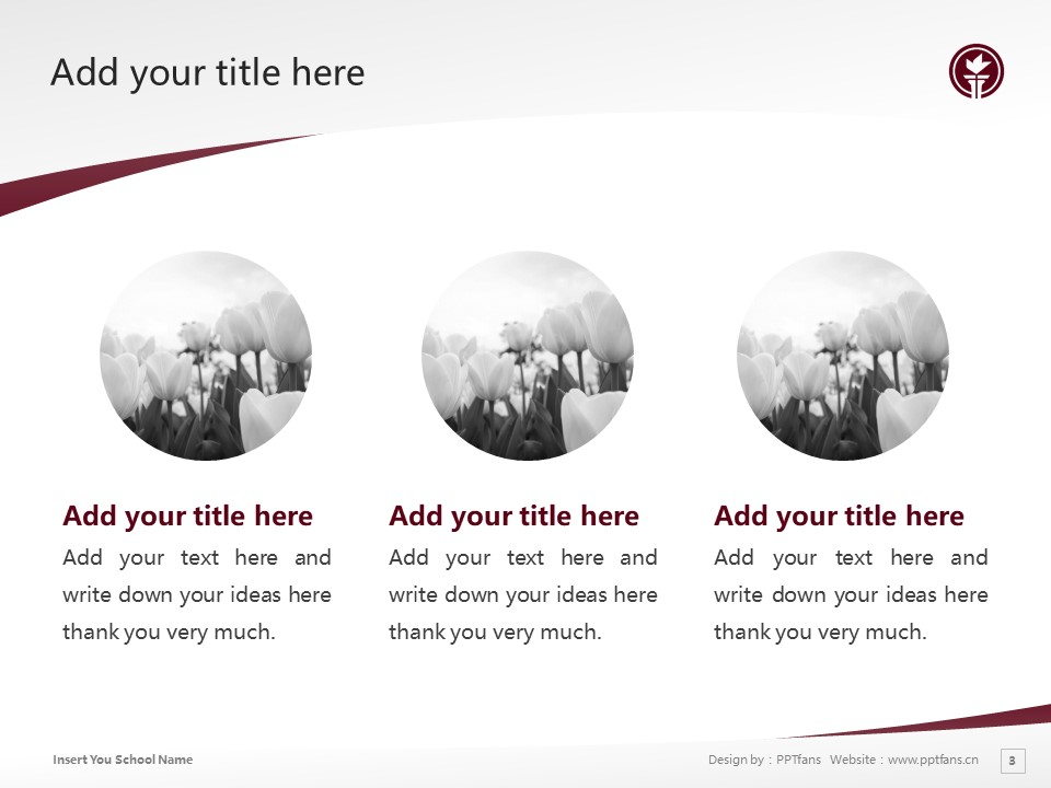 Seattle Pacific University Powerpoint Template Download | 西雅图太平洋大学PPT模板下载_slide3