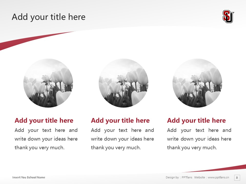 Seattle University Powerpoint Template Download | 西雅图大学PPT模板下载_slide3