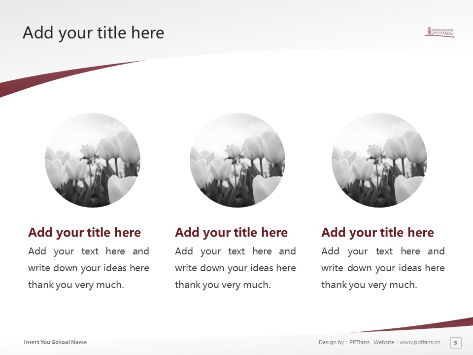 Huston-Tillotson College Powerpoint Template Download | 休斯顿蒂罗森学院PPT模板下载_幻灯片3