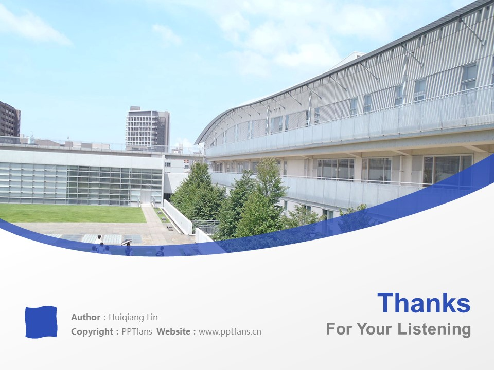 Shizuoka University of Art and Culture Powerpoint Template Download | 静冈文化艺术大学PPT模板下载_幻灯片19