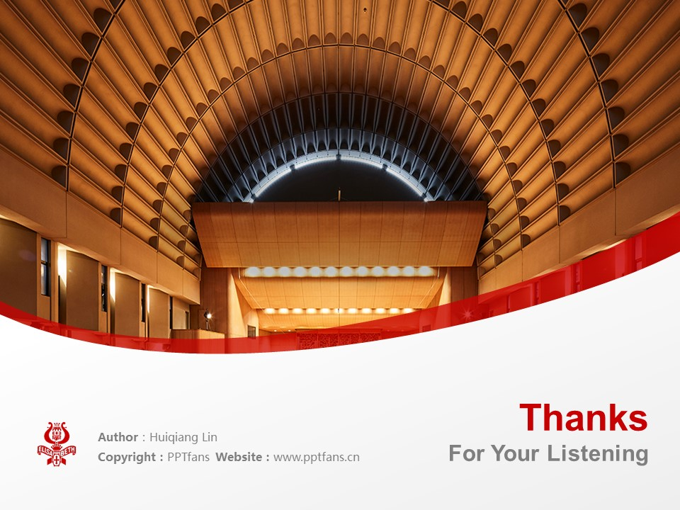 Elisabeth University of Music Powerpoint Template Download | 伊利莎白音乐大学PPT模板下载_幻灯片19