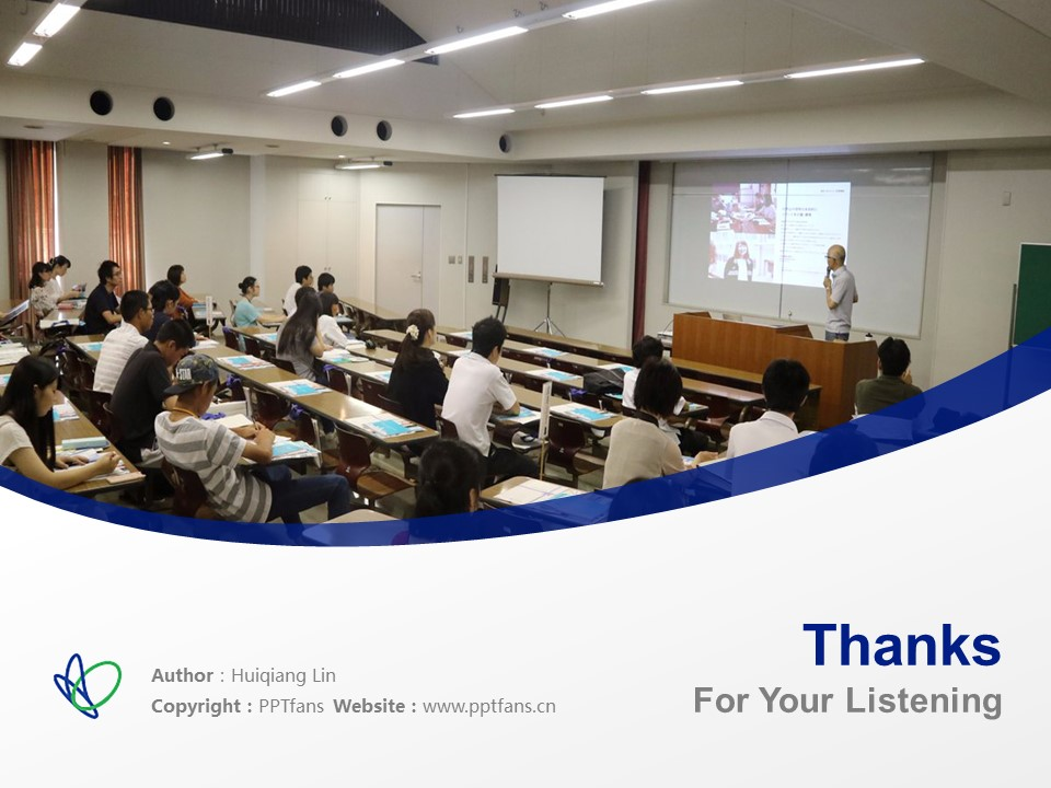 Kobe Yamate University Powerpoint Template Download | 神户山手大学PPT模板下载_slide19