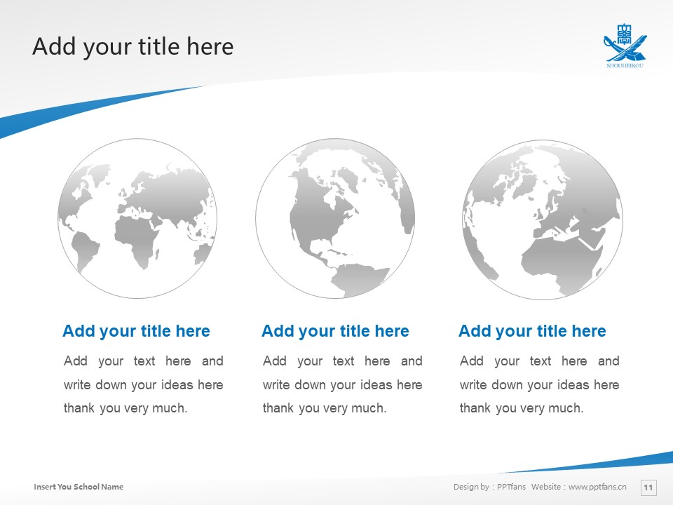 Higashi Nippon International University Powerpoint Template Download | 东日本国际大学PPT模板下载_slide11