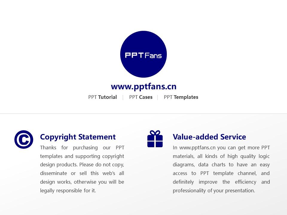 Tokyo Seiei College Powerpoint Template Download | 东京圣荣大学PPT模板下载_slide20