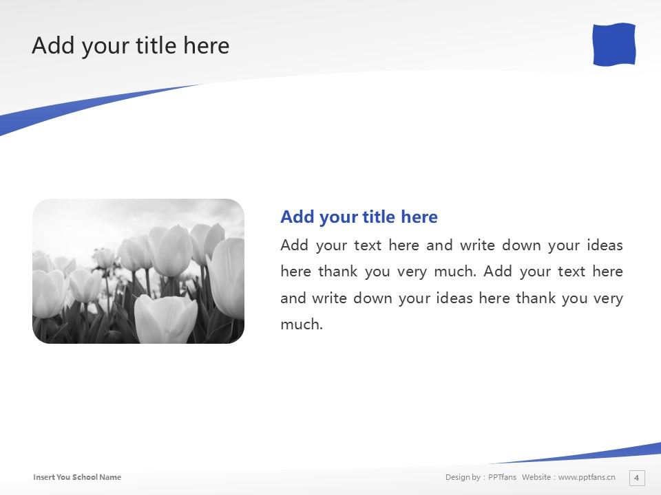Shizuoka University of Art and Culture Powerpoint Template Download | 静冈文化艺术大学PPT模板下载_slide4