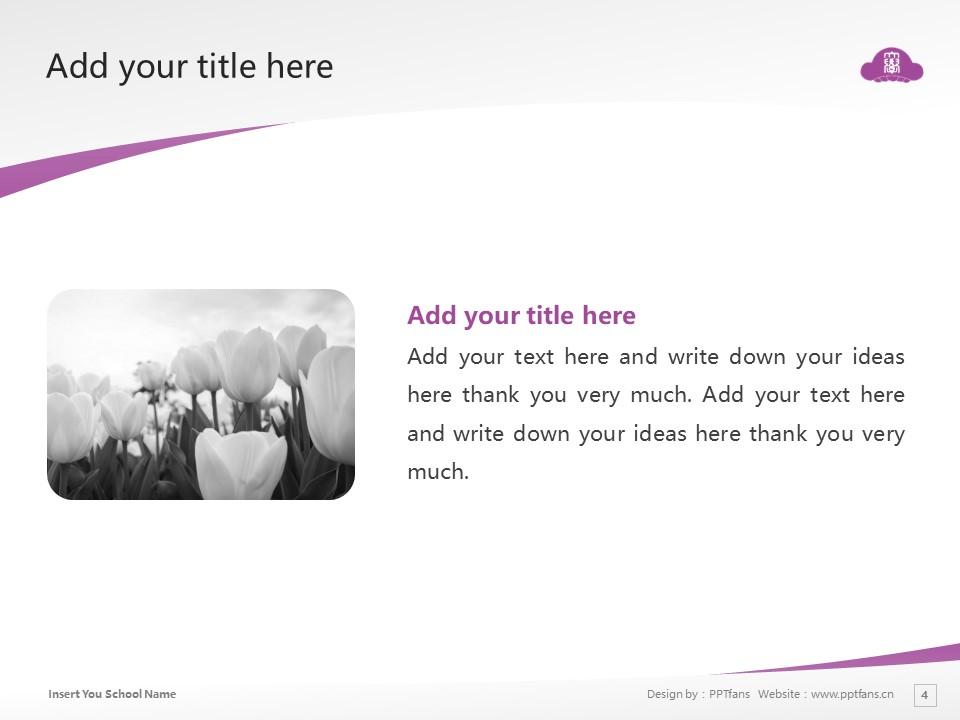 SONODA WOMEN'S UNIVERSITY SONODA WOMEN'S COLLEGE  Powerpoint Template Download | 园田学园女子大学PPT模板下载_slide4