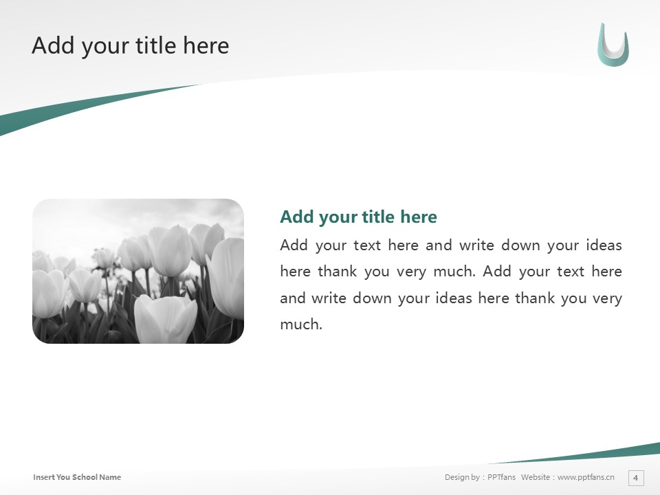 Kaisei Gakuen Colledes Powerpoint Template Download | 郡山女子大学PPT模板下载_slide4