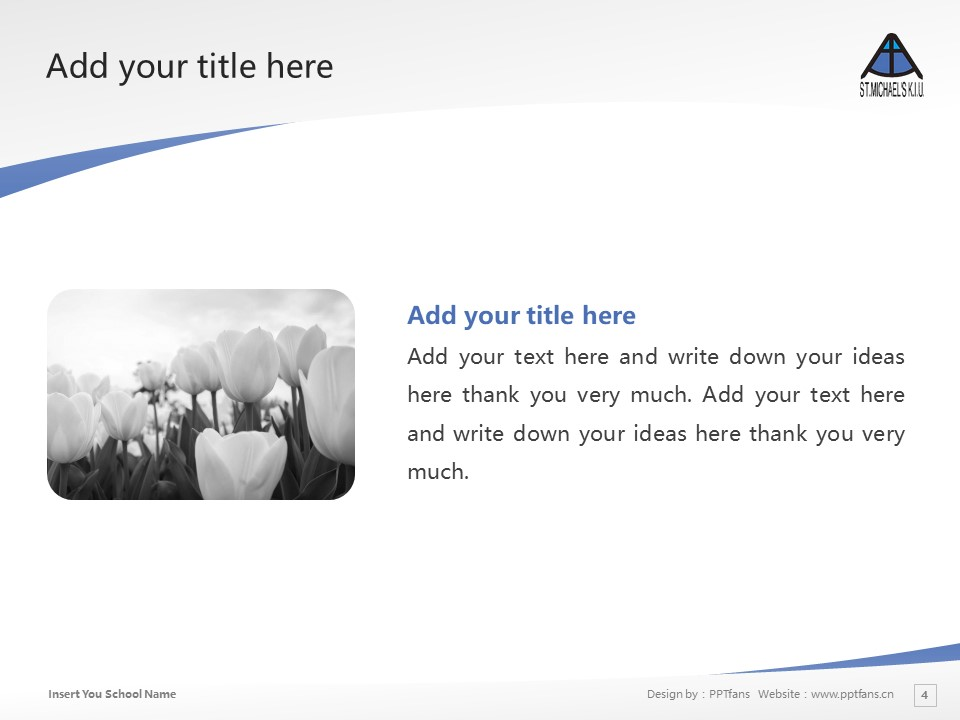Kobe International University Powerpoint Template Download | 神户国际大学PPT模板下载_幻灯片4