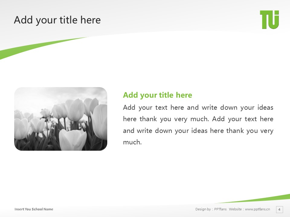 Tokuyama Univ Powerpoint Template Download | 德山大学PPT模板下载_幻灯片4