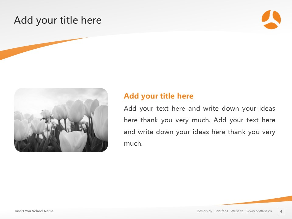 Yamaguchi University of Human Welfare and Culture Powerpoint Template Download | 山口福祉文化大学PPT模板下载_slide4