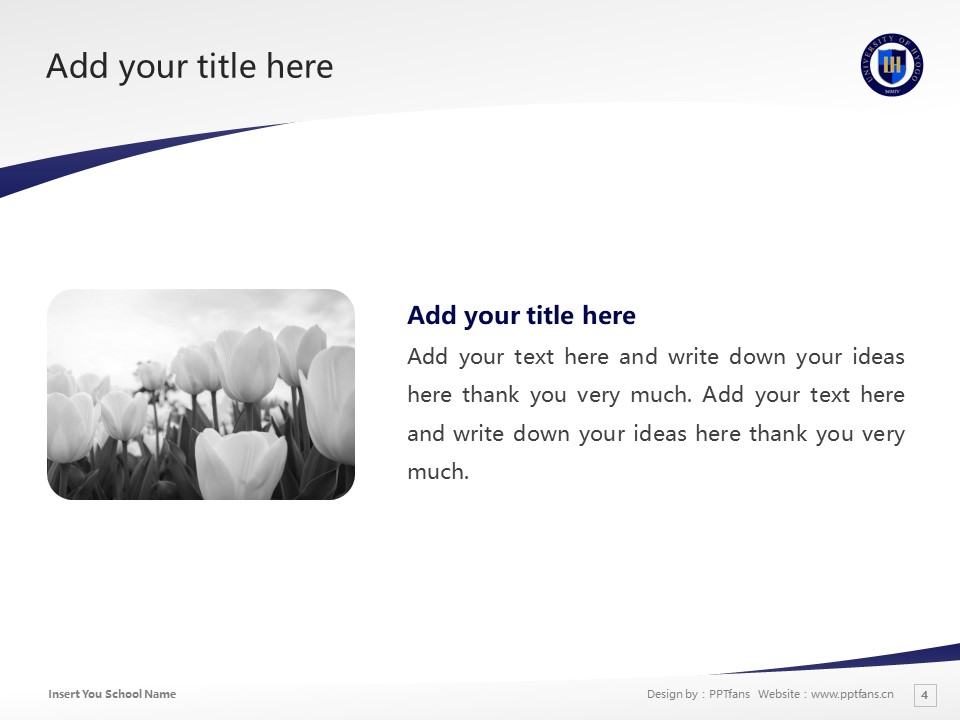University of Hyogo Powerpoint Template Download | 兵库县立大学PPT模板下载_slide4