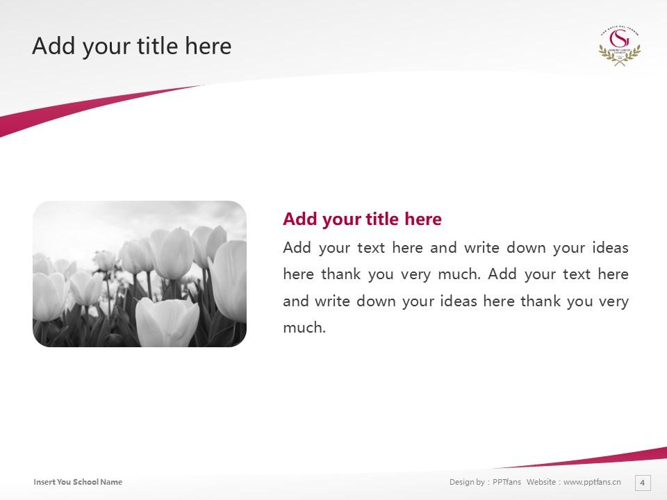 Shikoku Gakuin University Powerpoint Template Download | 四国学院大学PPT模板下载_slide4