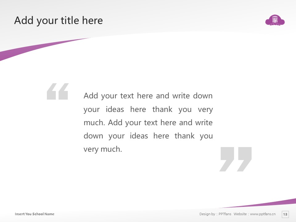 SONODA WOMEN'S UNIVERSITY SONODA WOMEN'S COLLEGE  Powerpoint Template Download | 园田学园女子大学PPT模板下载_slide13