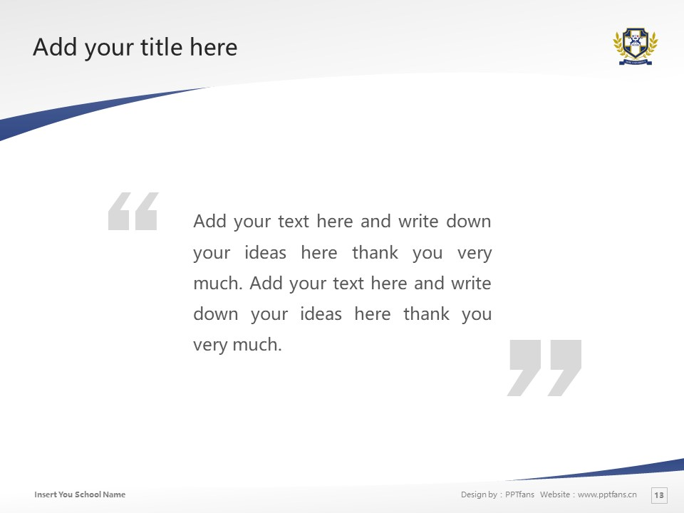 Seibi University Powerpoint Template Download | 京都创成大学PPT模板下载_slide13