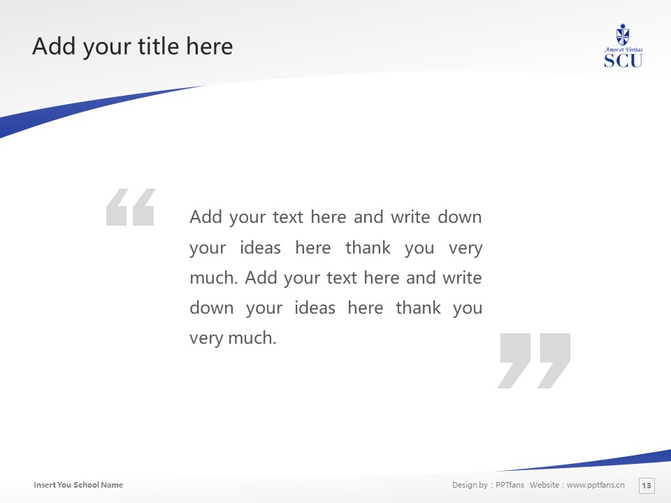 St. Catherine University Powerpoint Template Download | 圣卡塔利娜女子大学PPT模板下载_slide13
