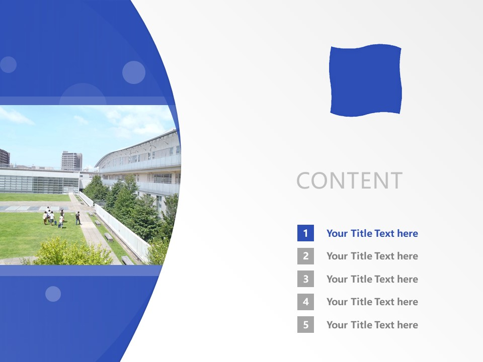 Shizuoka University of Art and Culture Powerpoint Template Download | 静冈文化艺术大学PPT模板下载_slide2