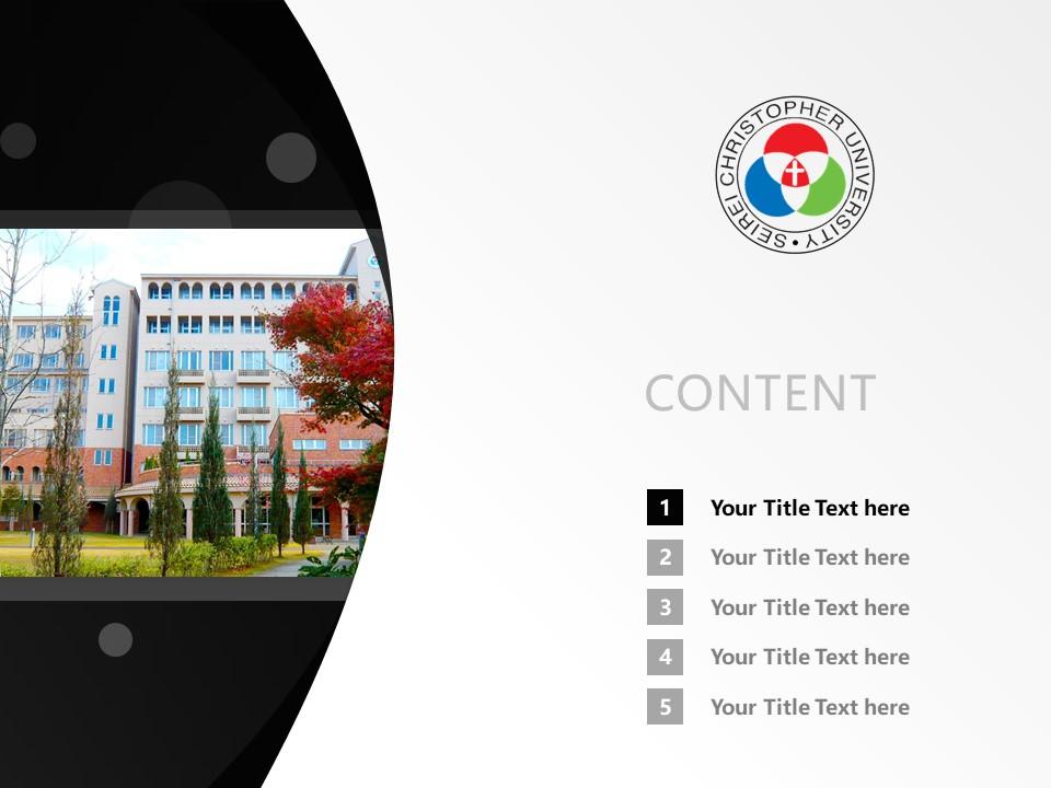Seirei Christopher University Powerpoint Template Download | 圣隷克里斯多佛看护大学PPT模板下载_slide2