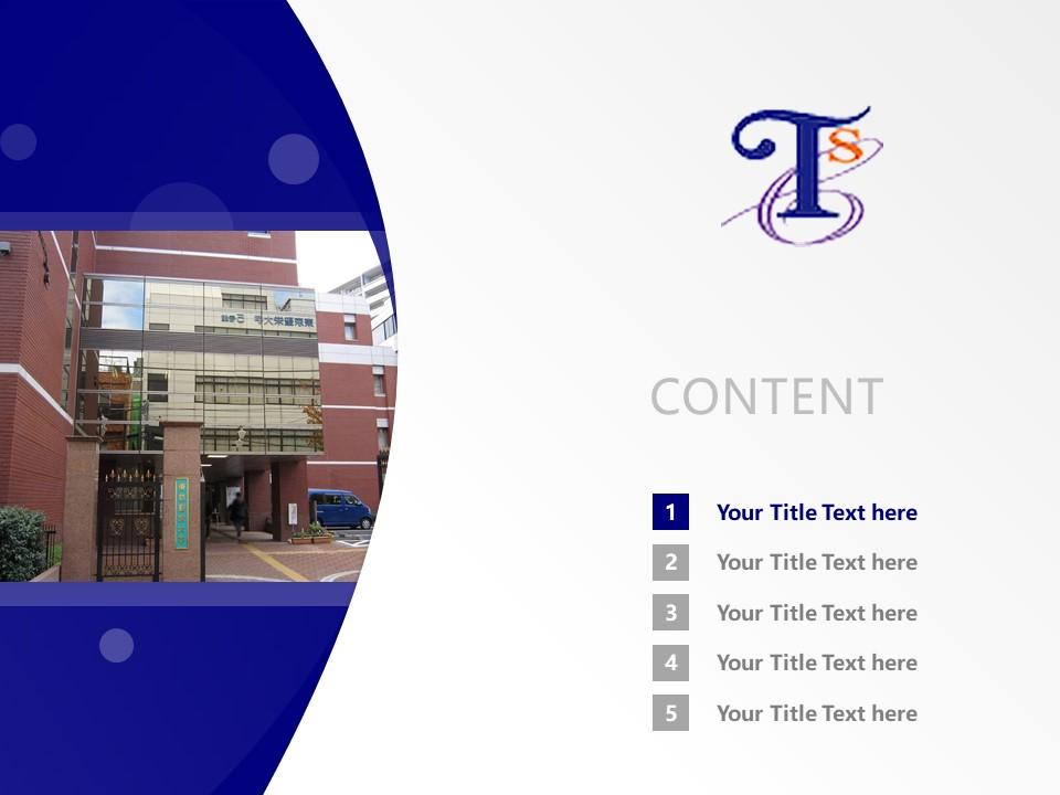 Tokyo Seiei College Powerpoint Template Download | 东京圣荣大学PPT模板下载_slide2