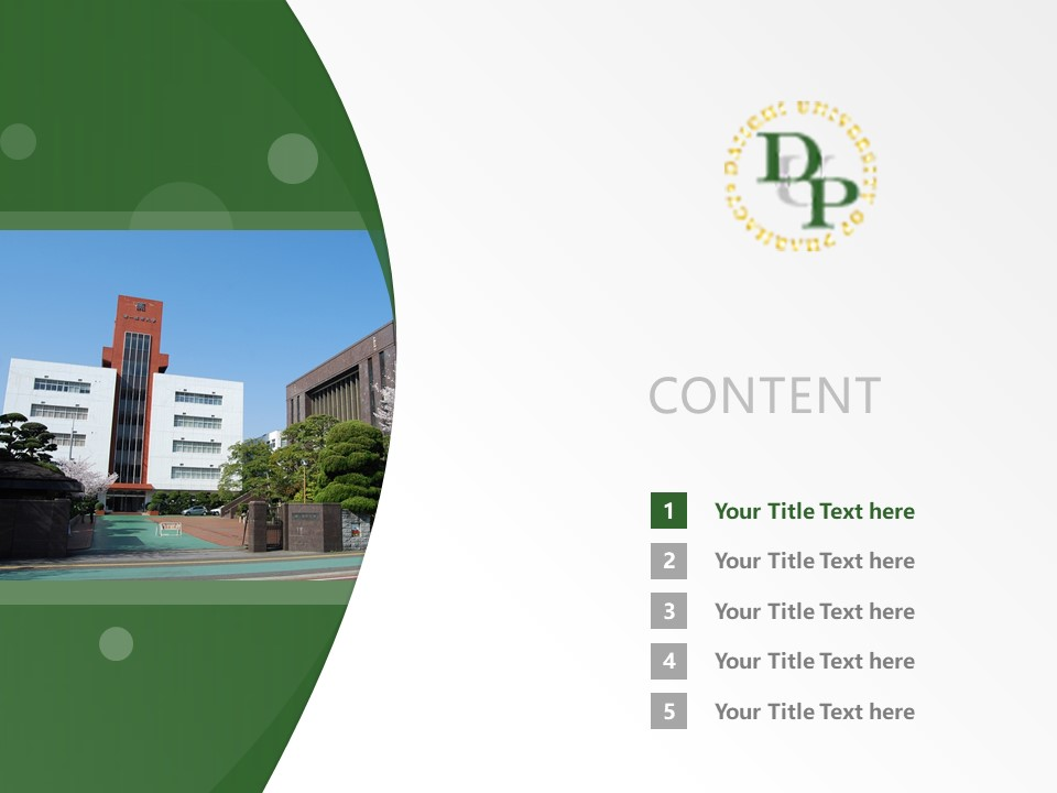Daiichi University, College of Pharmaceutical Sciences Powerpoint Template Download | 第一药科大学PPT模板下载_幻灯片2