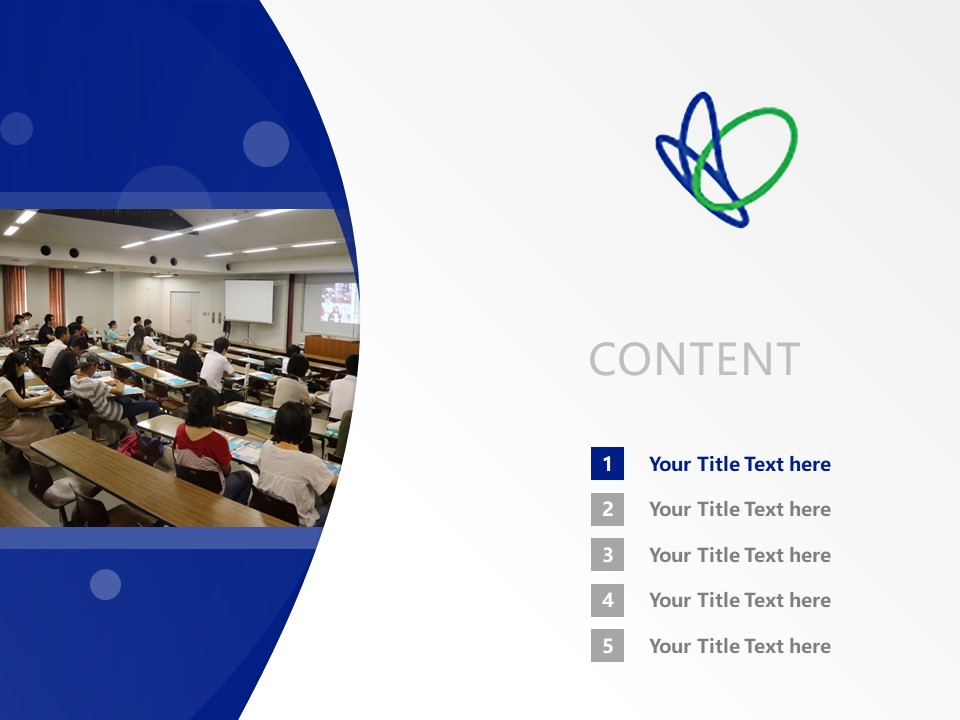 Kobe Yamate University Powerpoint Template Download | 神户山手大学PPT模板下载_slide2