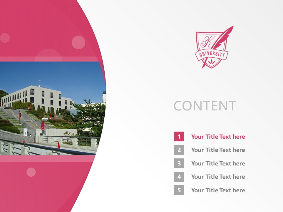 Kobe Women's University Powerpoint Template Download | 神户女子大学PPT模板下载_幻灯片2
