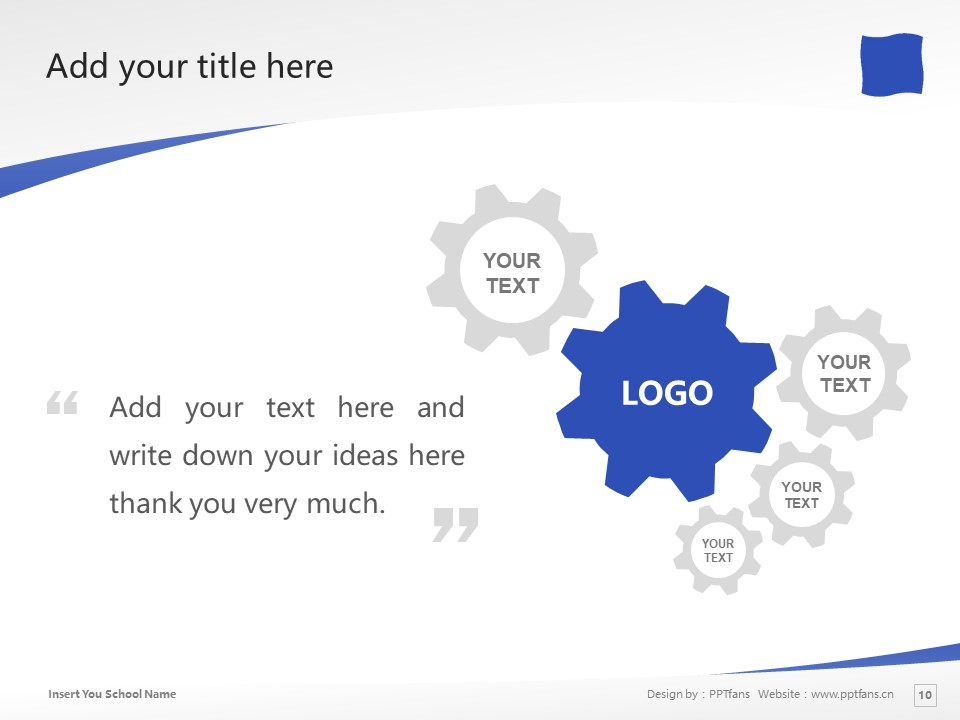 Shizuoka University of Art and Culture Powerpoint Template Download | 静冈文化艺术大学PPT模板下载_slide10