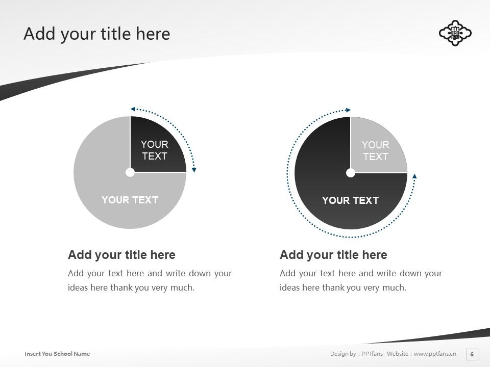 KOGAKKAN UNIVERSITY Powerpoint Template Download | 皇学馆大学PPT模板下载_slide6