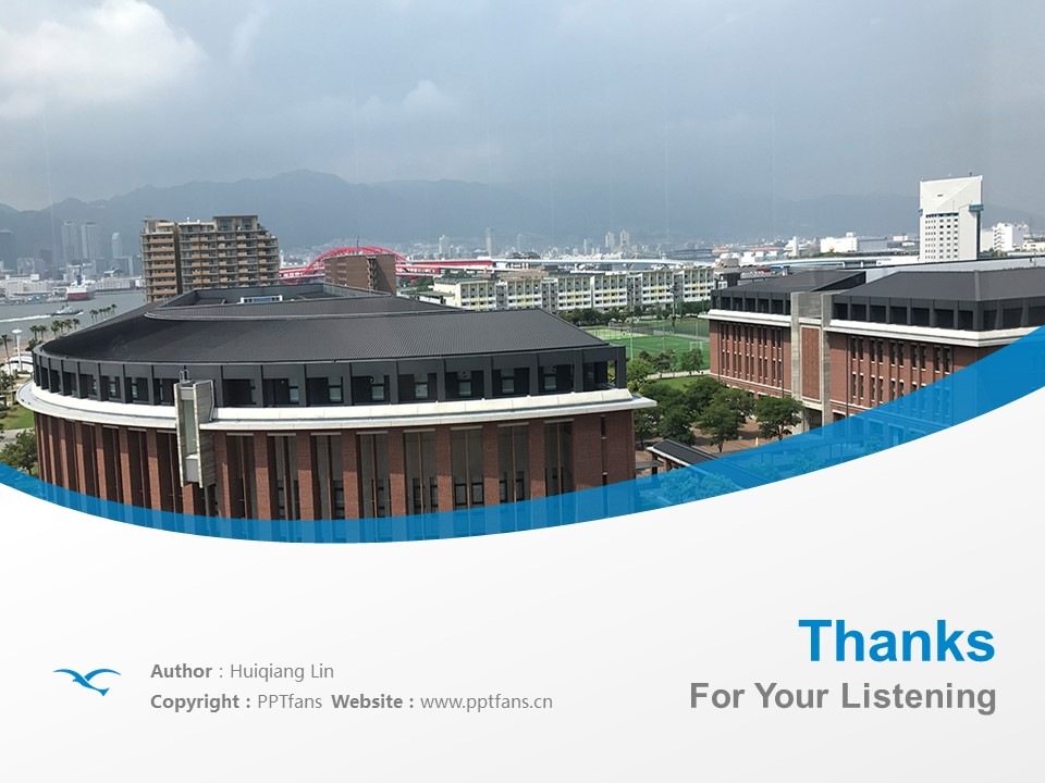 Kobe Gakuin University Powerpoint Template Download | 神户学院大学PPT模板下载_幻灯片19