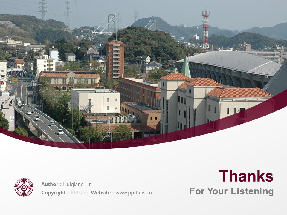 Baiko Gakuin University Powerpoint Template Download | 梅光学院大学PPT模板下载_slide19