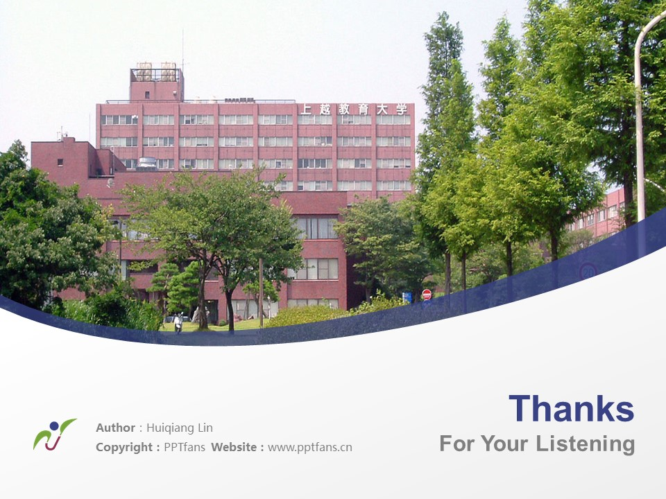 Joetsu University of Education Powerpoint Template Download | 上越教育大学PPT模板下载_幻灯片19