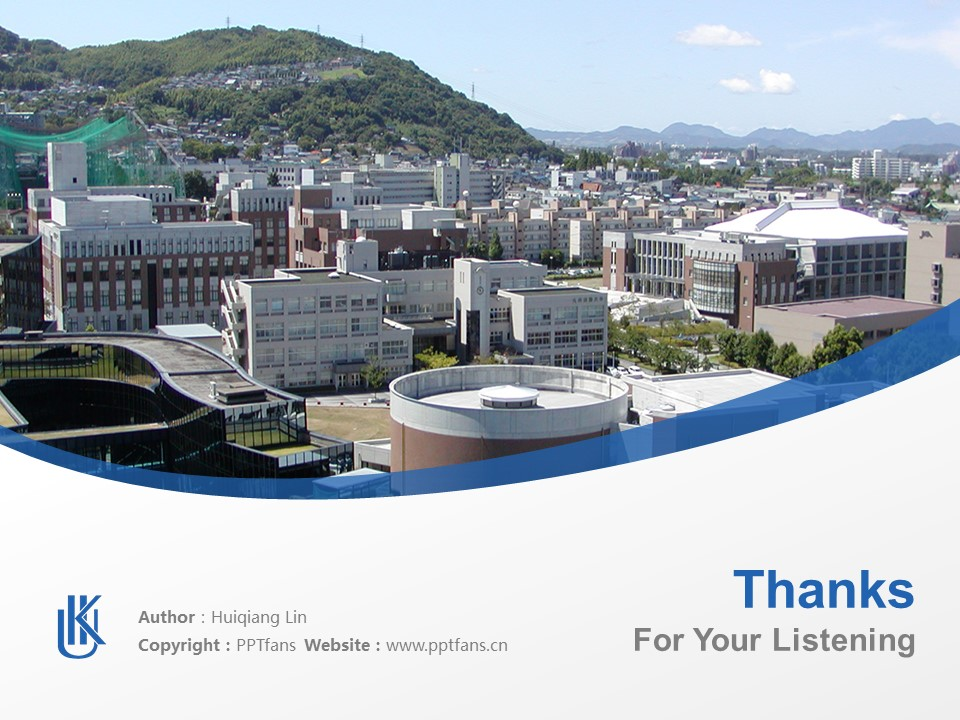 Kyushu International University Powerpoint Template Download | 九州国际大学PPT模板下载_幻灯片19