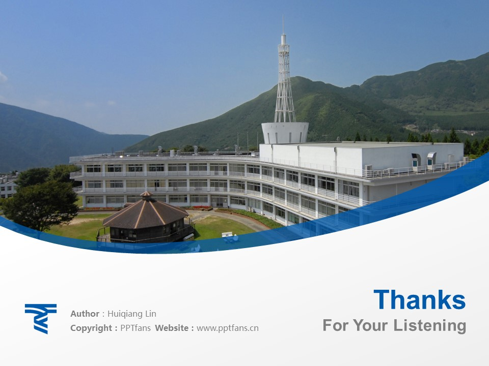 Tokai University Powerpoint Template Download | 九州东海大学PPT模板下载_slide19