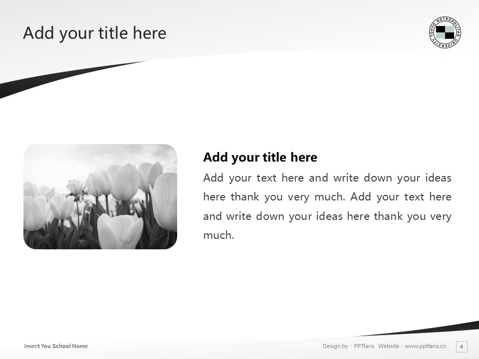 Tokyo Metropolitan University Powerpoint Template Download | 首都大学東京PPT模板下载_slide4