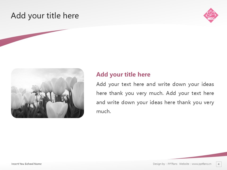Meio University Powerpoint Template Download | 名樱大学PPT模板下载_slide4