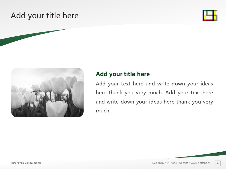 Nagoya University of Arts and Sciences Powerpoint Template Download | 名古屋学艺大学PPT模板下载_幻灯片4