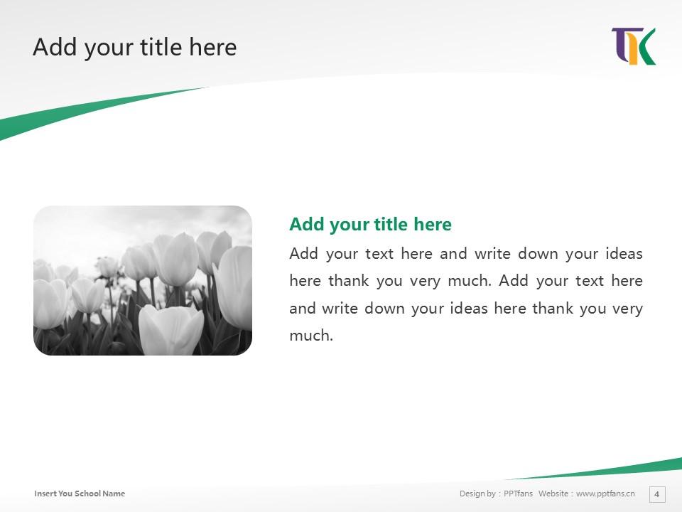 Tomakomai Komazawa University Powerpoint Template Download | 苫小牧驹泽大学PPT模板下载_slide4