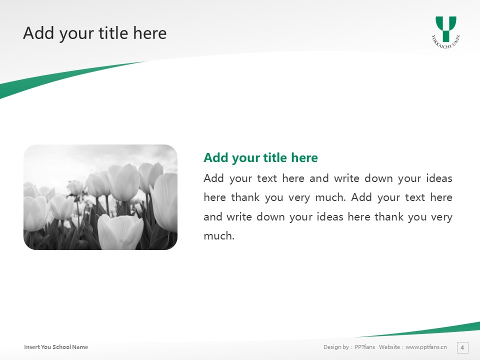 Yokkaichi University Powerpoint Template Download | 四日市大学PPT模板下载_幻灯片4
