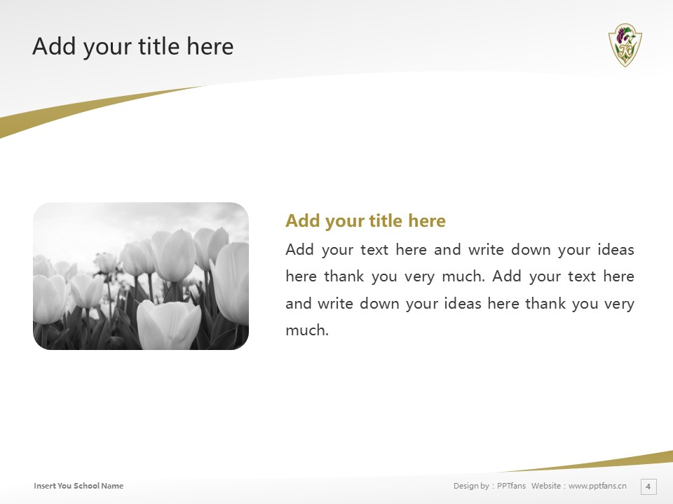 Utsunomiya Kyowa University Powerpoint Template Download | 那须大学PPT模板下载_slide4