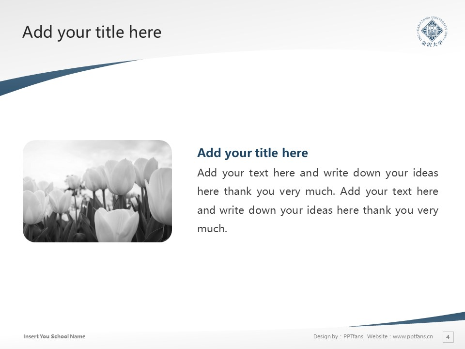 Kanazawa University Powerpoint Template Download | 金泽大学PPT模板下载_slide3