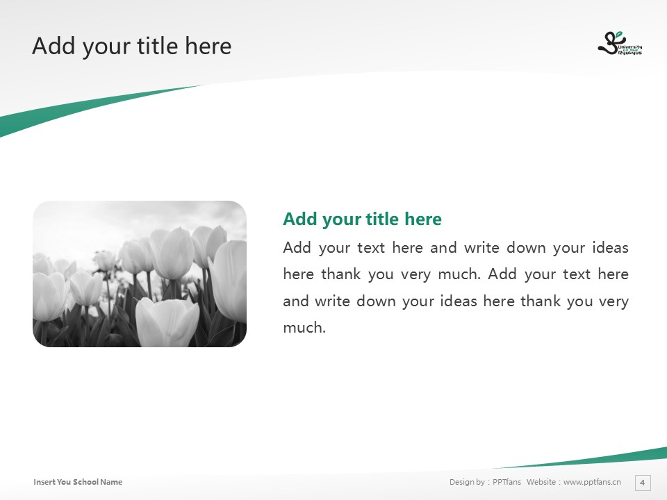 University of the Ryukyus Powerpoint Template Download | 琉球大学PPT模板下载_幻灯片4