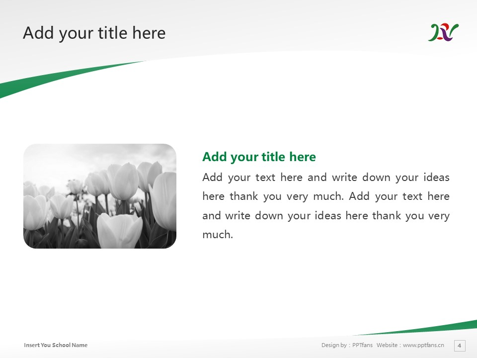 Nara Prefectural University Powerpoint Template Download | 奈良县立大学PPT模板下载_slide4