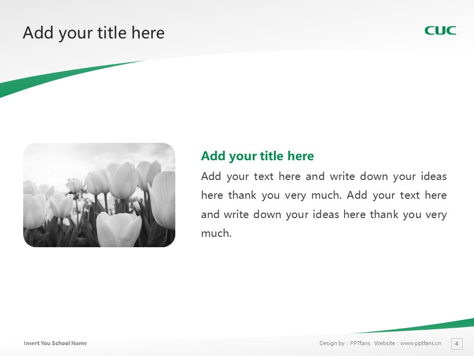 Chiba University of Commerce Powerpoint Template Download | 千叶商科大学PPT模板下载_slide4