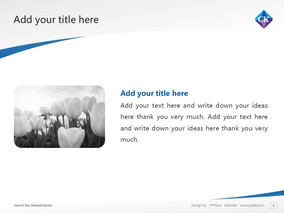 Chiba Keizai University Powerpoint Template Download | 千叶经济大学PPT模板下载_幻灯片4