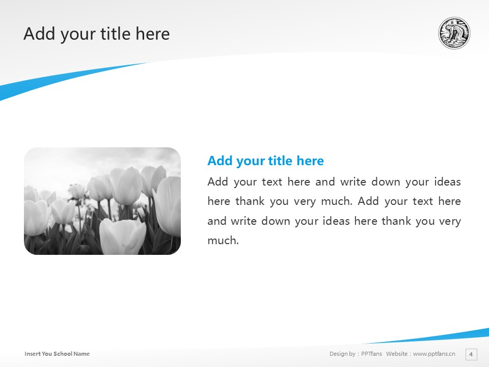 Keisen University Powerpoint Template Download | 惠泉女学园大学PPT模板下载_幻灯片4