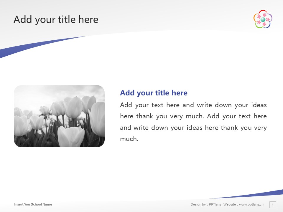 Hirosaki University Powerpoint Template Download | 弘前大学PPT模板下载_幻灯片预览图4