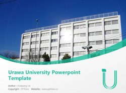 Urawa University Powerpoint Template Download | 浦和大学PPT模板下载