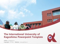 The International University of Kagoshima Powerpoint Template Download | 鹿儿岛国际大学PPT模板下载