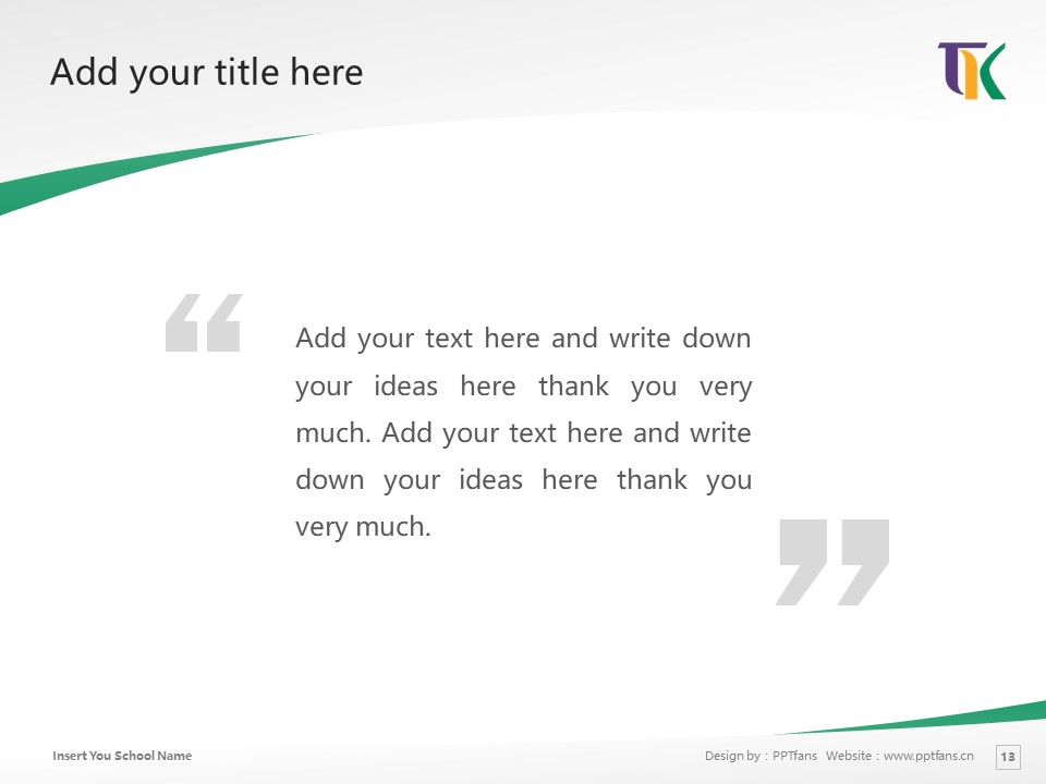 Tomakomai Komazawa University Powerpoint Template Download | 苫小牧驹泽大学PPT模板下载_slide13