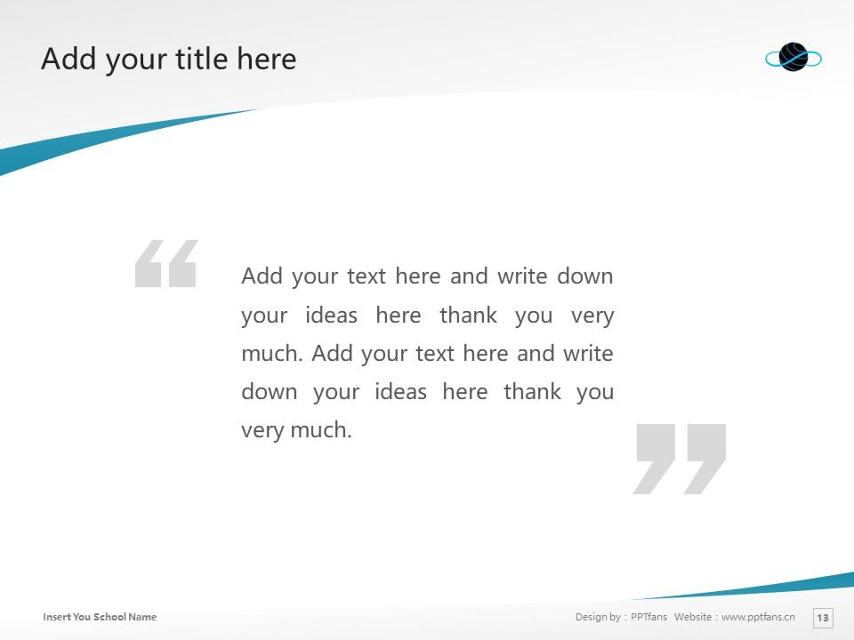 Kenichi Ohmae Graduate School of Business Powerpoint Template Download | 商务突破大学院大学PPT模板下载_slide13